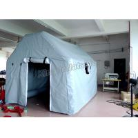 Quality Grey Waterproof Inflatable Event Tent / Inflatable Single Tent For Army Medical Or Camping for sale