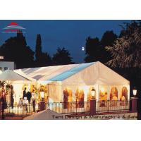 Quality White Aluminum Frame Big Structure Retail Tent for Weekend Fairs for sale