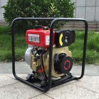 Quality WP40 4-Stroke Portable Manual 4 Inch Diesel water pump for agricultural irrigation for sale