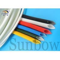 Best Electrical Wire Insulating Silicone Fiberglass Sleeving 4.0mm wholesale