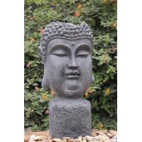 Best Outside Garden Buddha Head Fountain / Asian Outdoor Fountain With CE GS TUV UL wholesale