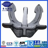 Quality Marine Japan stockless Anchor with KR LR BV NK ABS DNV certification for sale