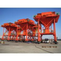 Quality 30cbm red dust free mobile port hopper for coal discharging for sale