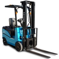 Economical Side Shifter 1600mm Fully Powered Electric Reach Truck Forklift for sale