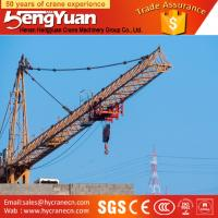 Quality QTZ series tower crane for sale in dubai,luffing jib dubai tower crane for sale