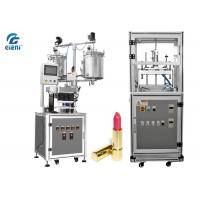 Quality Durable Cosmetic Cream Filling Machine 12 nozzles with Air Blowing Type Mould Releaser for sale