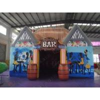 China Fireproof air Inflatable Tent Pub / inflatable marquee with 15 man on sale