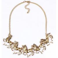 Quality exaggerated necklace jewelry clothing accessories wholesale pony full steam ahead for sale