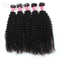 Quality Long Lasting Grade 6A Brazilian Hair Kinky CurlyWeave With Tangle Free for sale