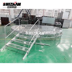 Quality Outdoor Indoor Fashion Show Wedding Aluminum Stage Platform Acrylic Event for sale