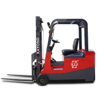 2.2KW 7.0KPH Mini 3 Wheel Electric Battery Operated Forklift for sale