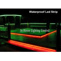 Best 3528SMD RGB LED Strip Lights For Stair Lighting , 24V Double PCB Christmas Strip wholesale