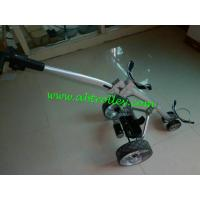 China Carbon golf trolley runs for 36 holes Golf Bag Cart of quite motors discount golf cart on sale
