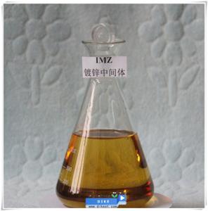 Zinc electroplating chemical intermediate quaternary ammonium-type cation Imidazole (IMZ)