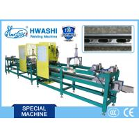 Buy cheap Automatic Spot Welding Machine For Welding BIS Fixing Rail With 16m Automatic Feeder from wholesalers