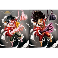 Quality PET Poster Anime ONE PIECE 3D Lenticular Printing Service for sale