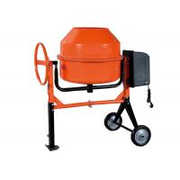 "Quality 230L Motor concrete mixer for construction 1KW 28"" small volume , high eficiency for sale"