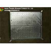 Quality Galvanized Metal Driveway Drainage Grates , Hinge Stainless Steel Grates For Driveways for sale