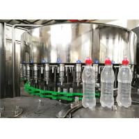Quality Rotary 3 In 1 Full Automatic Water Bottle Filling Machine Wih Suction Cap for sale