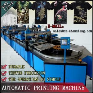 China T-shirt rotary screen printing machine on sale