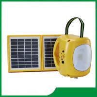 China Rechargeable solar lantern / led solar camping lantern with mobile phone charger for hot sale on sale