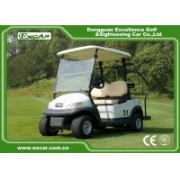 Quality EXCAR 2 Seater Used Electric Golf Carts 48V Trojan Battery 25KM / H ADC Motor for sale