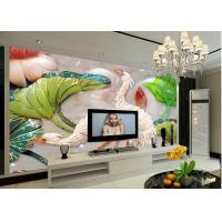 Quality Environmental Protection 3D Leather Wall Panels for TV Wall Decoration for sale