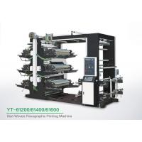Quality Eco Friendly 6 Color Flexo Printing Machine , Industrial Fabric Six Color Printer for sale