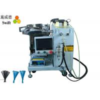 Quality SWT25100H Automatic Cable Tie Warp Machine AC220V For Packing Nylon Zip Ties for sale