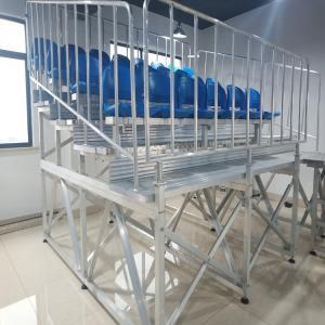 Quality Aluminum Stadium Bleacher Seating Permanent Spectator Sport for sale