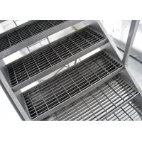 Quality 65x6 Galvanized Serrated Open Steel Floor Grating Heavy Duty Bar Type for sale