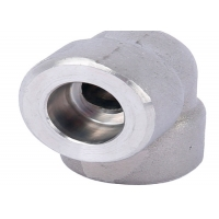 Buy cheap 45 90 Degree Asme B16.11 A182 F316 Socket Weld Elbow from wholesalers