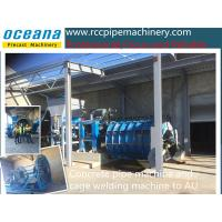 Quality Sell concrte tube making machine , drainage pipe making machine roller suspension type for sale