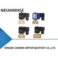 Buy High Flow Brass Solenoid Valve , Diaphragm Solenoid Valve P1 Compact Series at wholesale prices