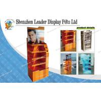 Buy cheap 5 Tiers Attractive Floor Carton Displays For Supermarket / Shopping Mall from wholesalers