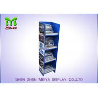 China Customized Pop Up Cardboard Floor Display Stands Environment Friendly on sale