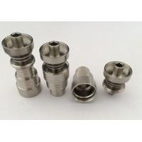 Quality 6 in 1 Quartz / Titanium Hybrid Domeless Nail for sale