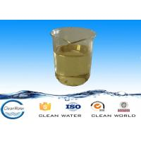Cation polymer high purity Colorless or yellow liquid polyamine for water clarification and paper mills