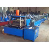 Quality Metal Rack Roll Forming Machine , Automatic Width Adjust Shelf Panel Roll Former for sale