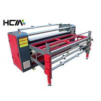 China Table Cloth Sublimation Heat Press Machine With Continuous Speed Adjustment System on sale