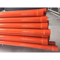 Quality Three Layer Co - Extrusion PVC Pipe Production Line 75 - 315mm High Impact Strength for sale