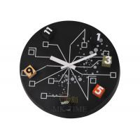 China movement star Electronic Round Gear Wall Clock With Moving gears FOR Home Decoration on sale