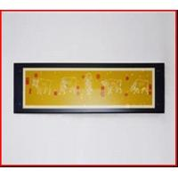 China Glass Picture Frame Glass Painting Frame black frame rectangle frame on sale