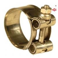 """Quality Aluminum Metal Hose Clamp Size 1/2"""" To 8"""" EN14420-8 / NF E29572 Standard for sale"""