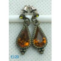 Best New style alloy ladies rhinestone dangle drop earrings E120 with custom design wholesale
