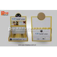 Best OEM PDQ Corrugated Counter Display Point Of Sale With Square Holes Pop Design wholesale
