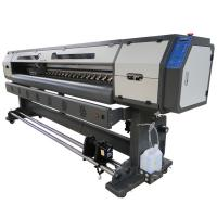 Quality Epson DX5 Print Head 1.8M Eco Solvent Printer For Vinyl / Perforate Window / Banner Printing for sale
