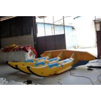 China Floating Inflatable Water Toys , 6 Seats 0.9mm PVC Inflatable Flyfish for Water Game on sale