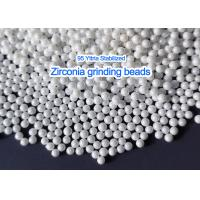 China Yttrium Stabilized Zirconia Grinding Media Zirconia Grinding Beads For High Viscosity Slurry Grinding on sale