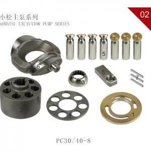 Quality Komatsu PC45-8 PC30 PC75UU PC40-7 PC50 Swing Motor Hydraulic Pump Spare Parts Repair Kit Rotory Group for sale